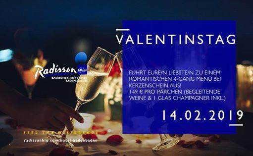 Valentinstag 2019 at Radisson Blu Badischer Hof Hotel, Baden-Baden