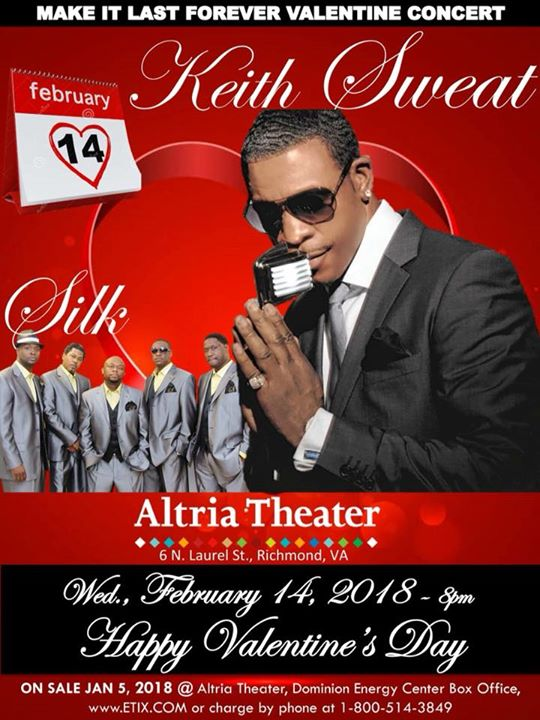 Make it Last Forever Valentines Day Concert at Altria Theater ...