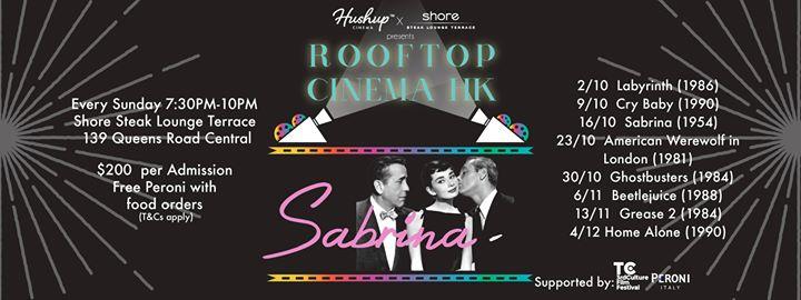 Sabrina Hushup Cinema X Shore Rooftop Cinema Hk At Shore