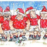Julefrokost  Christmas Party i Aalborg Rugbyklub Lynet