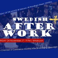 Swedish After Work at Halcyon