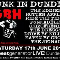 Punk in dundee with GBH and more