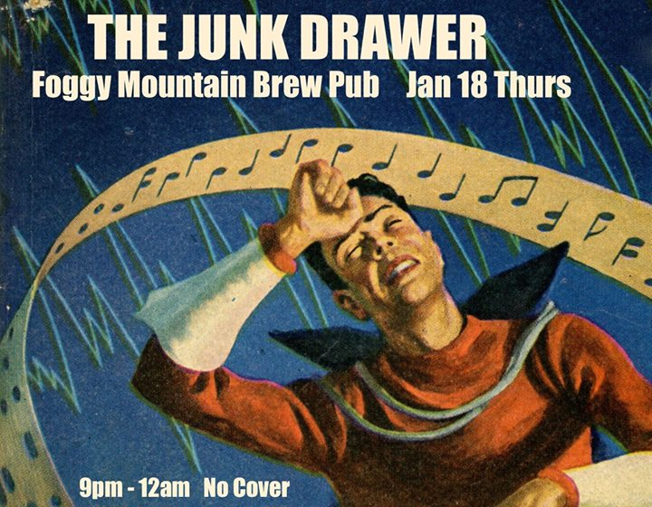The Junk Drawer at Foggy Mountain Brew Pub