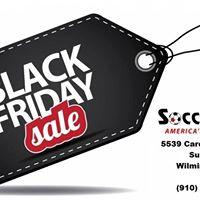 Black Friday at Soccer Post Wilmington