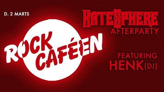 Rock Cafen  Hatesphere Afterparty  Henk(DJ)