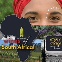 Wines of South Africa  Wine Class at The Wine Caf