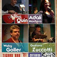 Noche de Rock y Blues con la banda de Gus en Buenos Aires