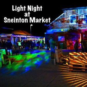 Light Night at Sneinton Market
