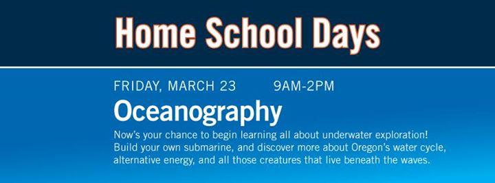 Home School Days Oceanography NOW FULL