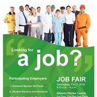Red Deer Mini Job Fair