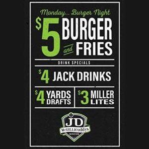 Monday Burger Night