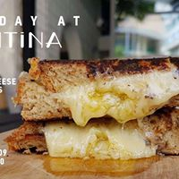 Sunday at Kantina - Grilled cheese &amp Big Softie ice cream