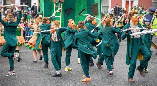 Fyraften St. Patricks Day in Aalborg