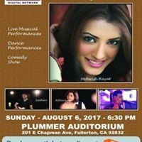 Mehwish Hayat Live in Concert Los Angeles