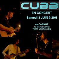 CUBBE en concert  Versailles