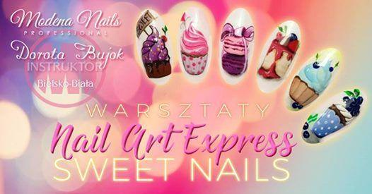 Warsztaty art express. Sweet nails