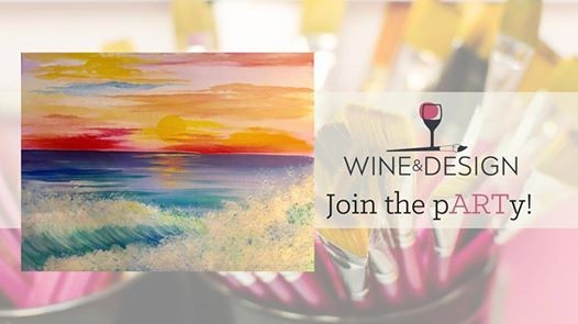 Sunrise Breaker Byob Painting Class At Wine Design Greenville Sc