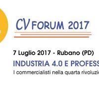 CV Forum 2017. Industria 4.0 e professione