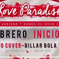 Love Paradise  No Cover  14 De Febrero