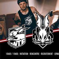 Initiation Roller Derby  Rabbit Skulls &amp Warren Track Fighters