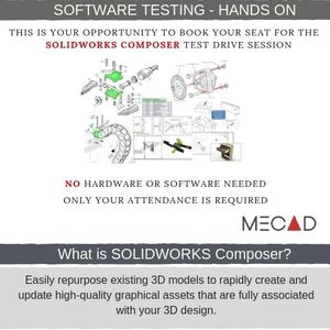 Solidworks Composer Software Testing at MECAD Systems