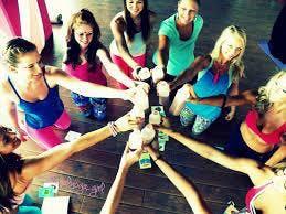 SOUL FLOW Sip & Stretch Yoga Benefit