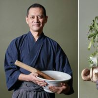 Gstspel av japansk tempelkock