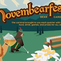 ASCE Presents Novembearfest Bear Garden