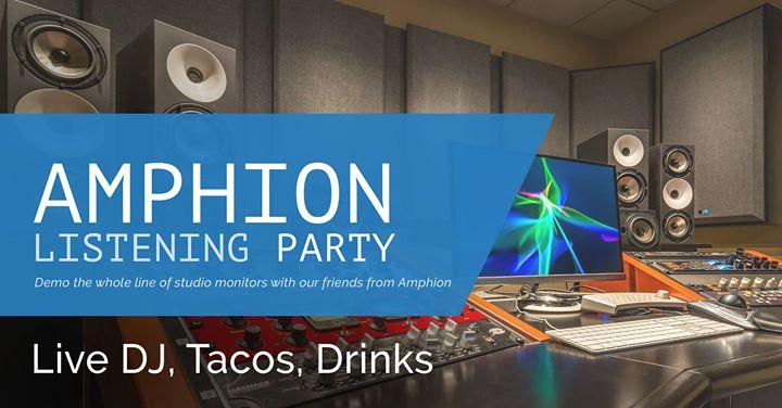 Amphion Listening Party
