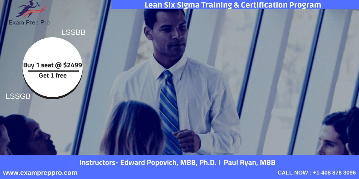 Lean Six Sigma Black Belt-4 days Classroom Training in Jefferson CityMT