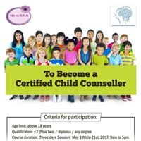 To Become a Certified Child Counseller