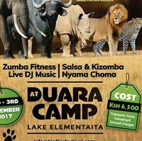 2 Days Big Five Festival (Camping Zumba Salsa Barbecue)