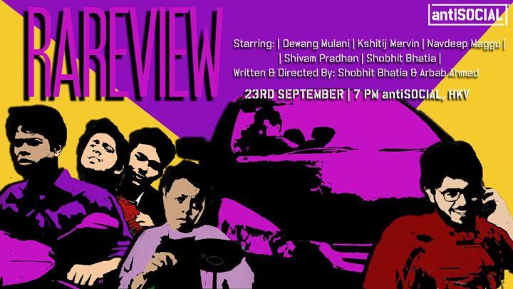 Rareview Short Film Screening at antiSOCIAL