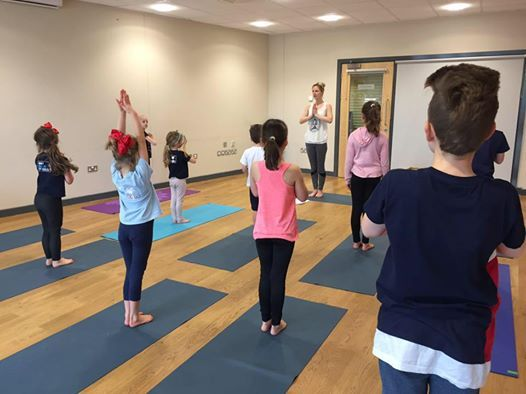 Yoga Warriors Age 4-8 Sunday Autumn Term