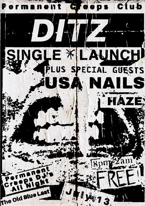 DITZ Single Launch  USA Nails  Haze - Permanent Creeps