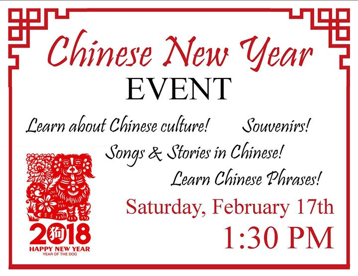Chinese New Year Event at Orange Grove Public Library, Gulfport