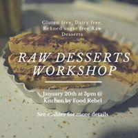 Raw Dessert Workshop