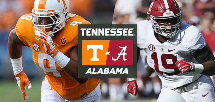 Alabama vs Tennessee Watch Party