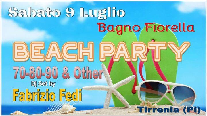 Disco 70/80/90 & Other at Bagno Fiorella Tirrenia, Pisa
