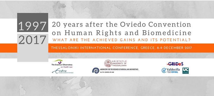 Thessaloniki International Conference (8-9 December 2017)