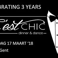 Cest Chic dinner and dance celebrating 3 years