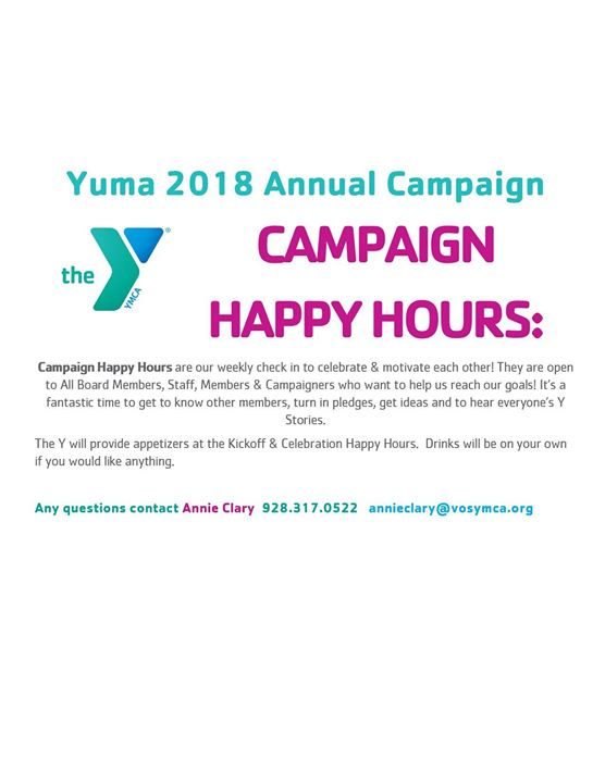 Campaign Happy Hour March 7th