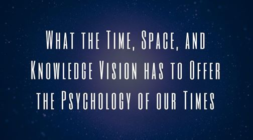 What the TSK Vision has to offer the psychology of our times