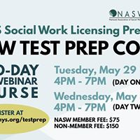 LCSW Test Prep Course (May 2018)