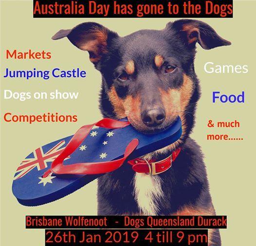Wolfenoot Australia Day Festival - Dog Markets