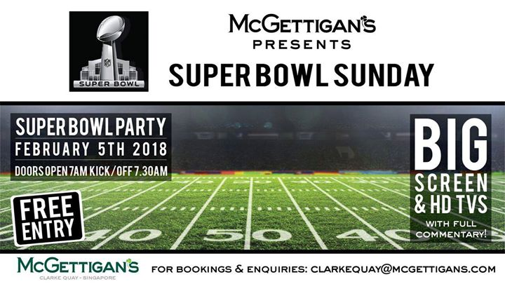 Super Bowl LII Breakfast Party
