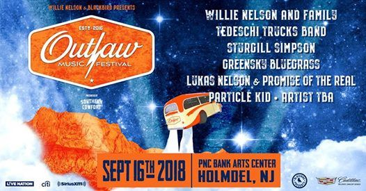 Outlaw Music Festival: Holmdel, NJ at PNC Bank Arts Center