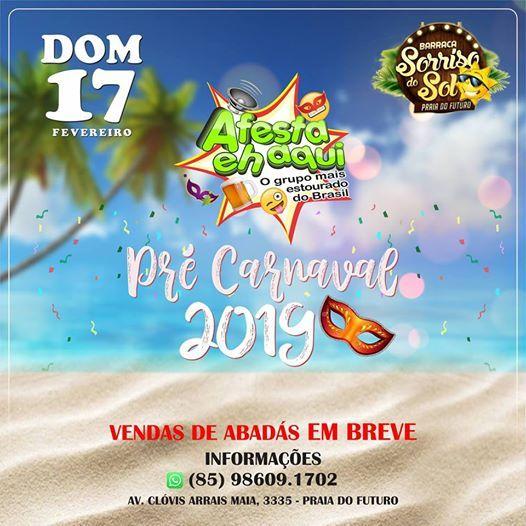 Pr Carnaval 2019 - A FESTA EH AQUI