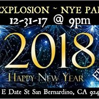 ECF Explosion - New Years Eve Party