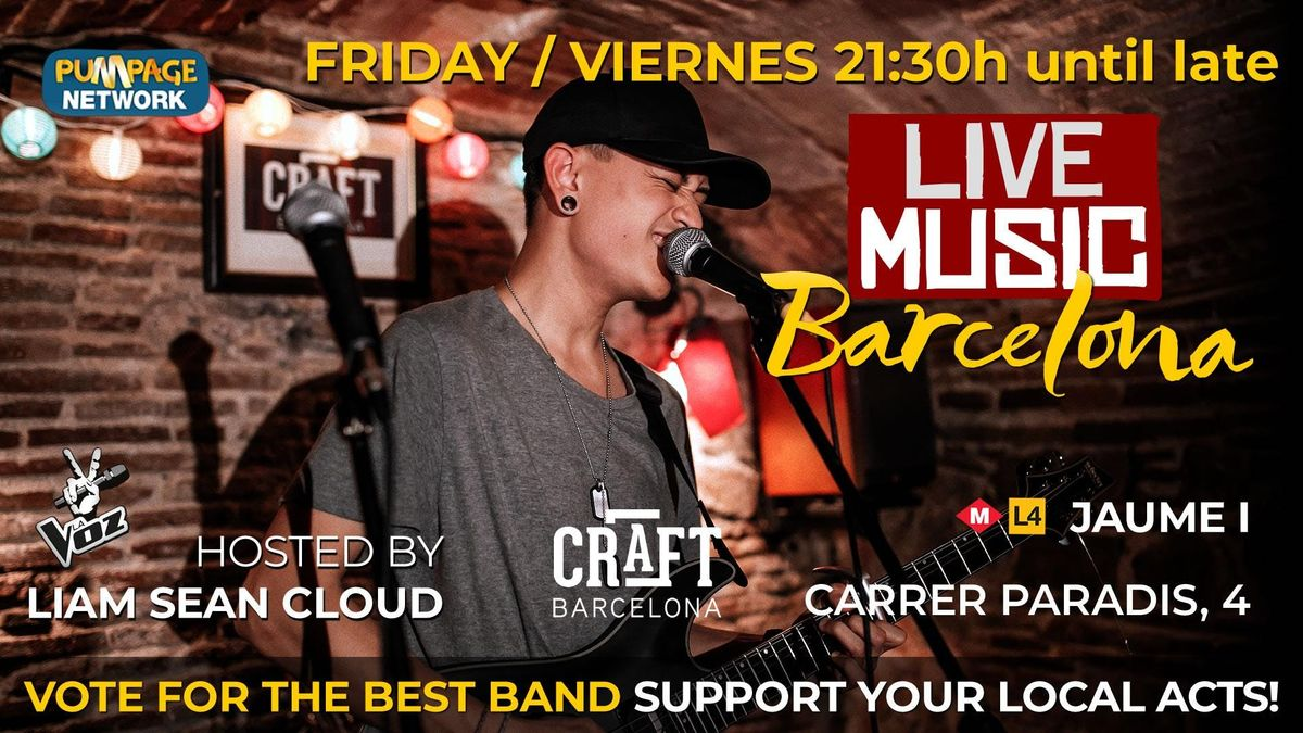 Barcelona Music Showcase - the best talent in Barcelona